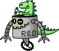 Robots and Dinosaurs Logo
