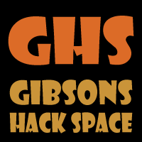 Gibsons Hack Space (GHS) Logo