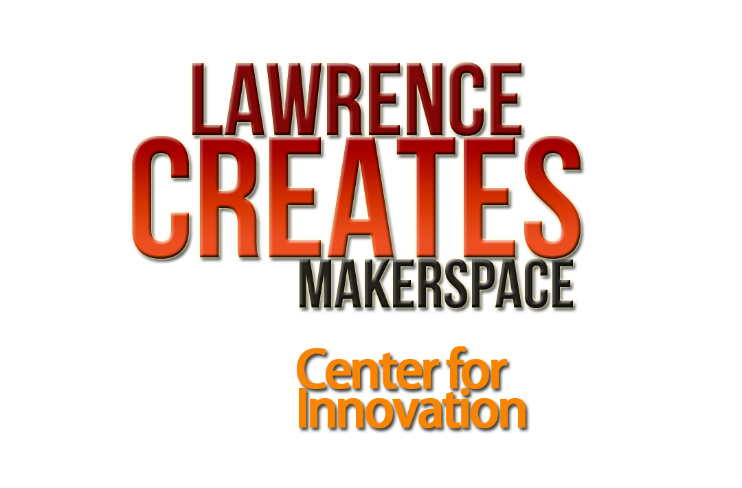 Lawrence Creates Makerspace Logo